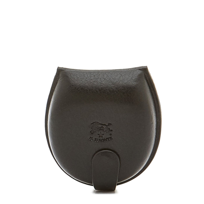 Il Bisonte Coin Purse, Nero