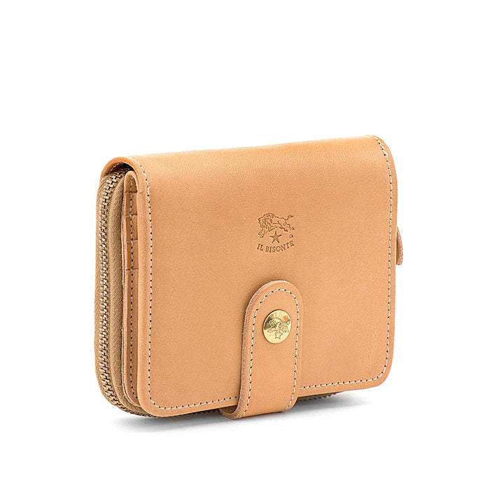 Il Bisonte Cowhide Wallet, Natural