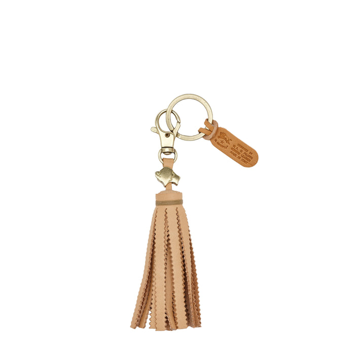 Il Bisonte Key Ring, Natural