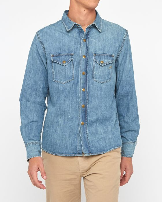 Billy Reid Denim Shirt, Denim Wash