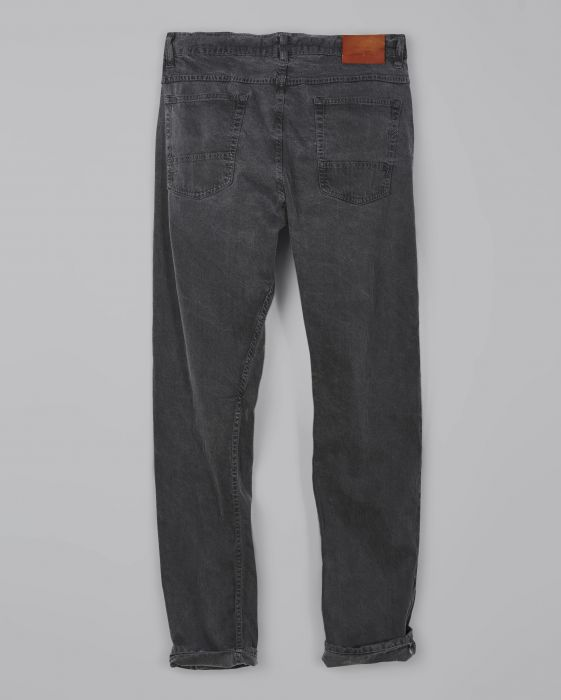 Billy Reid Slim Fit Silver Selvedge Jean, Charcoal