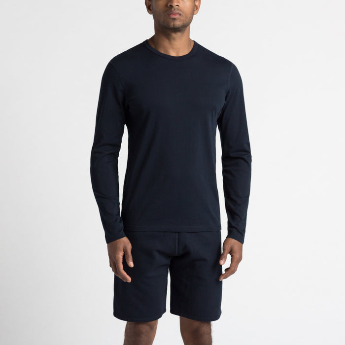 Reigning Champ Lightweight Terry Crewneck, Blue