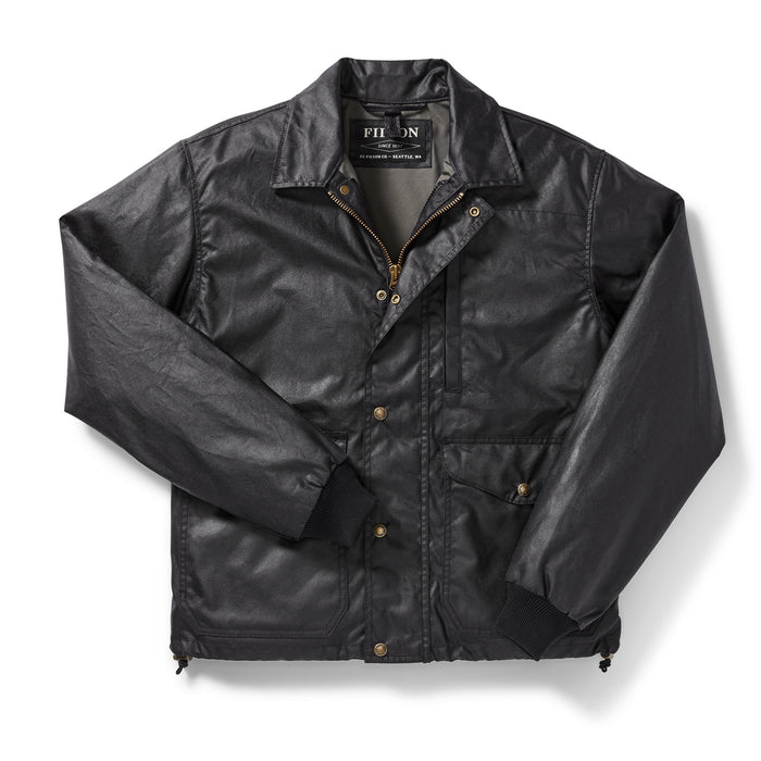 Filson Aberdeen Work Jacket, Blue Coal