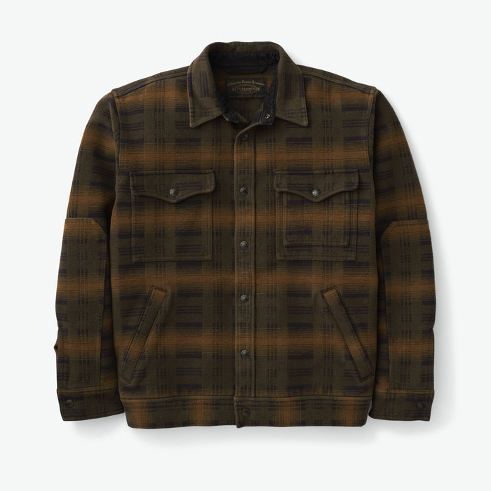 Beartooth Camp Jacket, Black Olive Brown