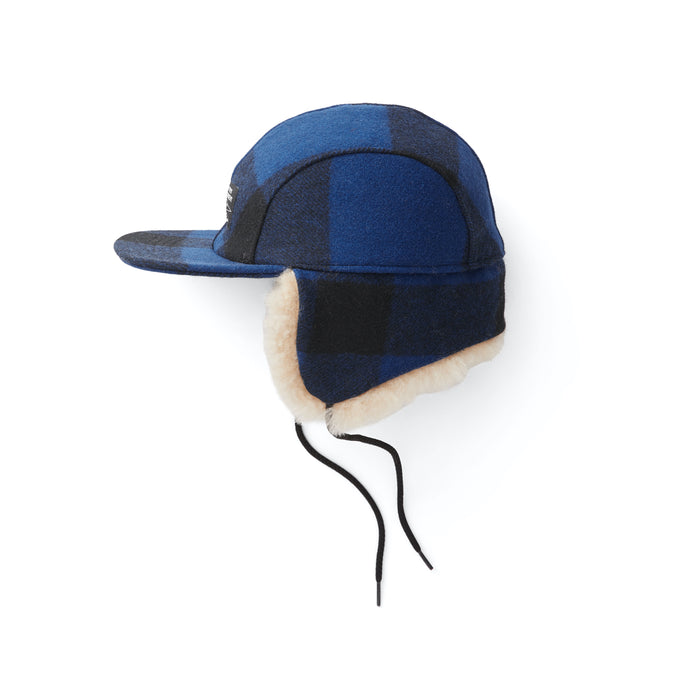 Filson Double Mackinaw Cap, Cobalt Black
