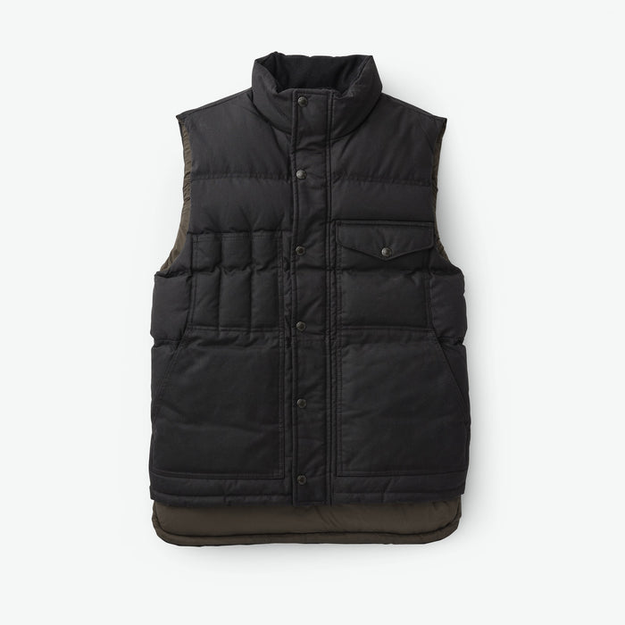 Filson Down Cruiser Vest, Blue Coal
