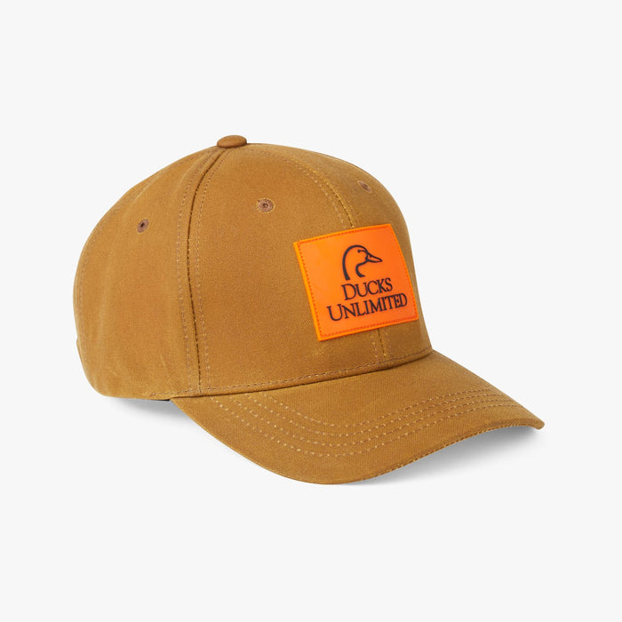 Filson Logger Cap Ducks Unlimited, Dark Tan