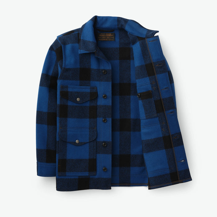 Filson Mackinaw Cruiser, Cobalt Blue/Black