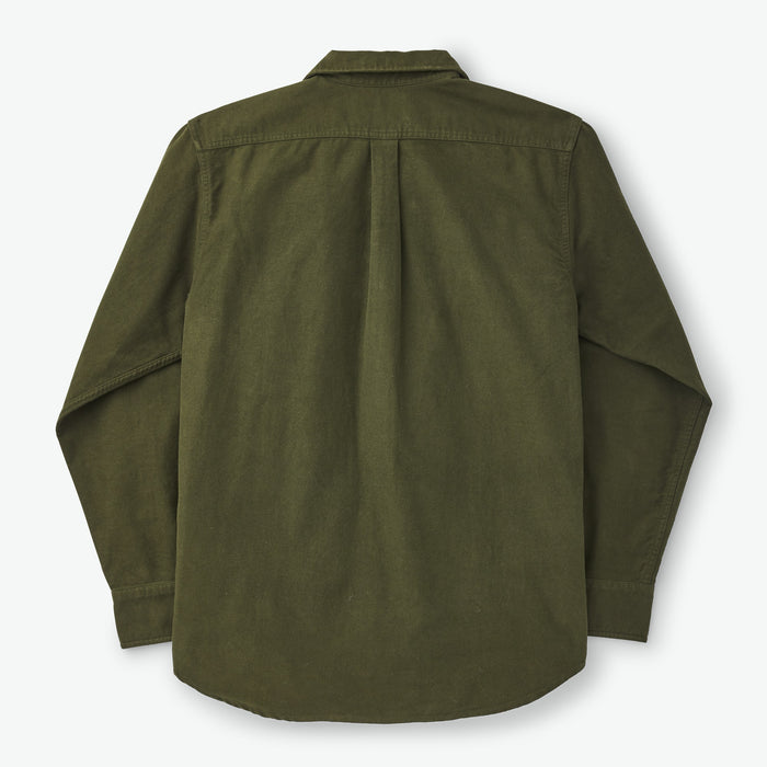 Filson Moleskin Seattle Shirt, Dark Olive