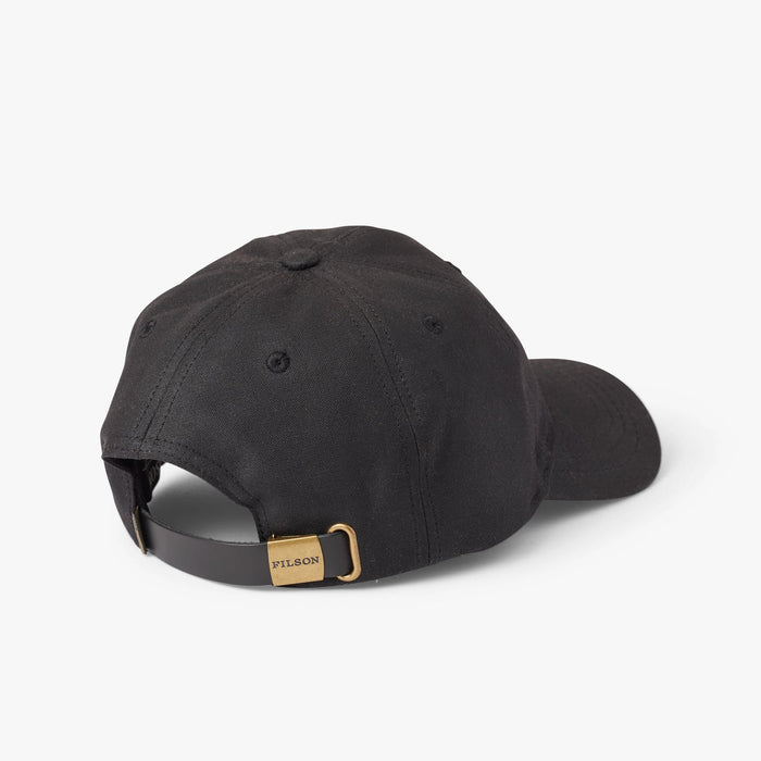 Filson Oil Tin Low Profile Cap, Black