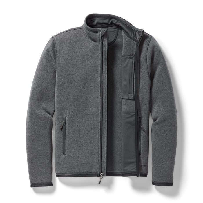 Filson Ridgeway Fleece Jacket, Charcoal Heather