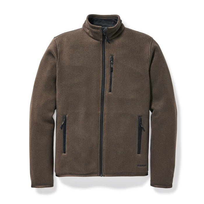 Filson Ridgeway Fleece Jacket, Dark Brown