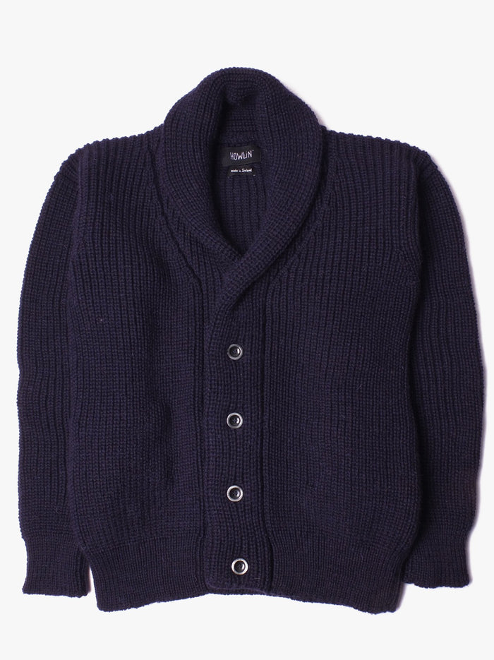 Howlin' Flying Teapot Sweater, Navy