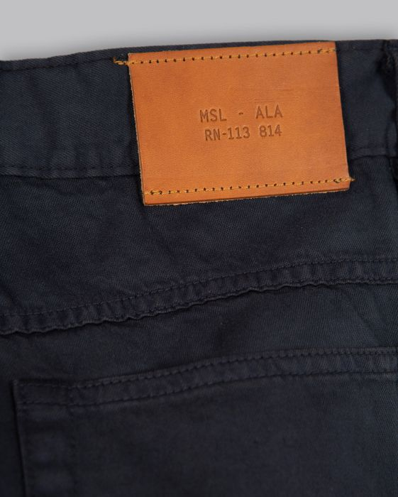 Billy Reid Slim Fit Silver Selvedge Jean, Carbon Blue