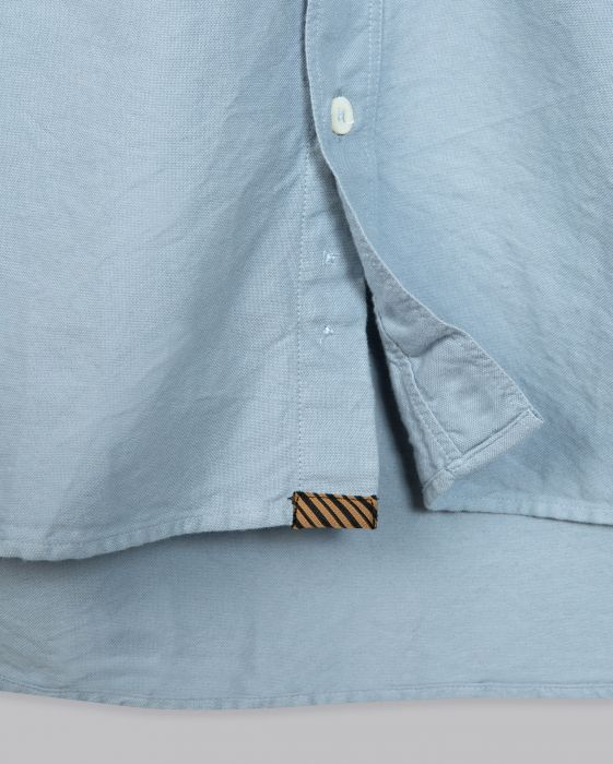 Billy Reid Washed Oxford Tuscumbia Shirt, Light Blue