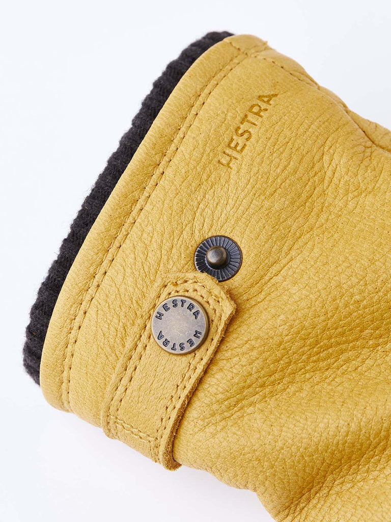 Hestra Elk Utsjo Glove, Natural Yellow