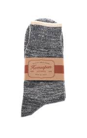 Homespun Knitwear Top Stripe Sock