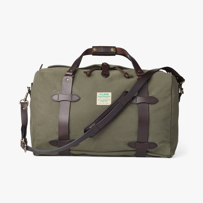 Filson Medium Duffle Bag, Ducks Unlimited, Otter Green