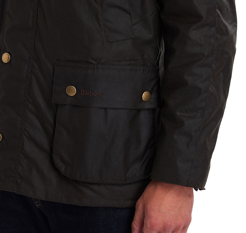 Barbour Ashby Wax Jacket , Olive