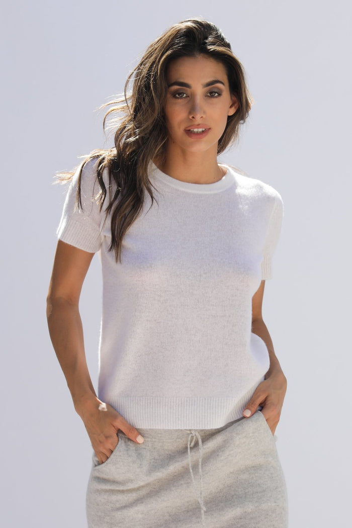 Oats Cashmere Vedra Sweater, Ivory