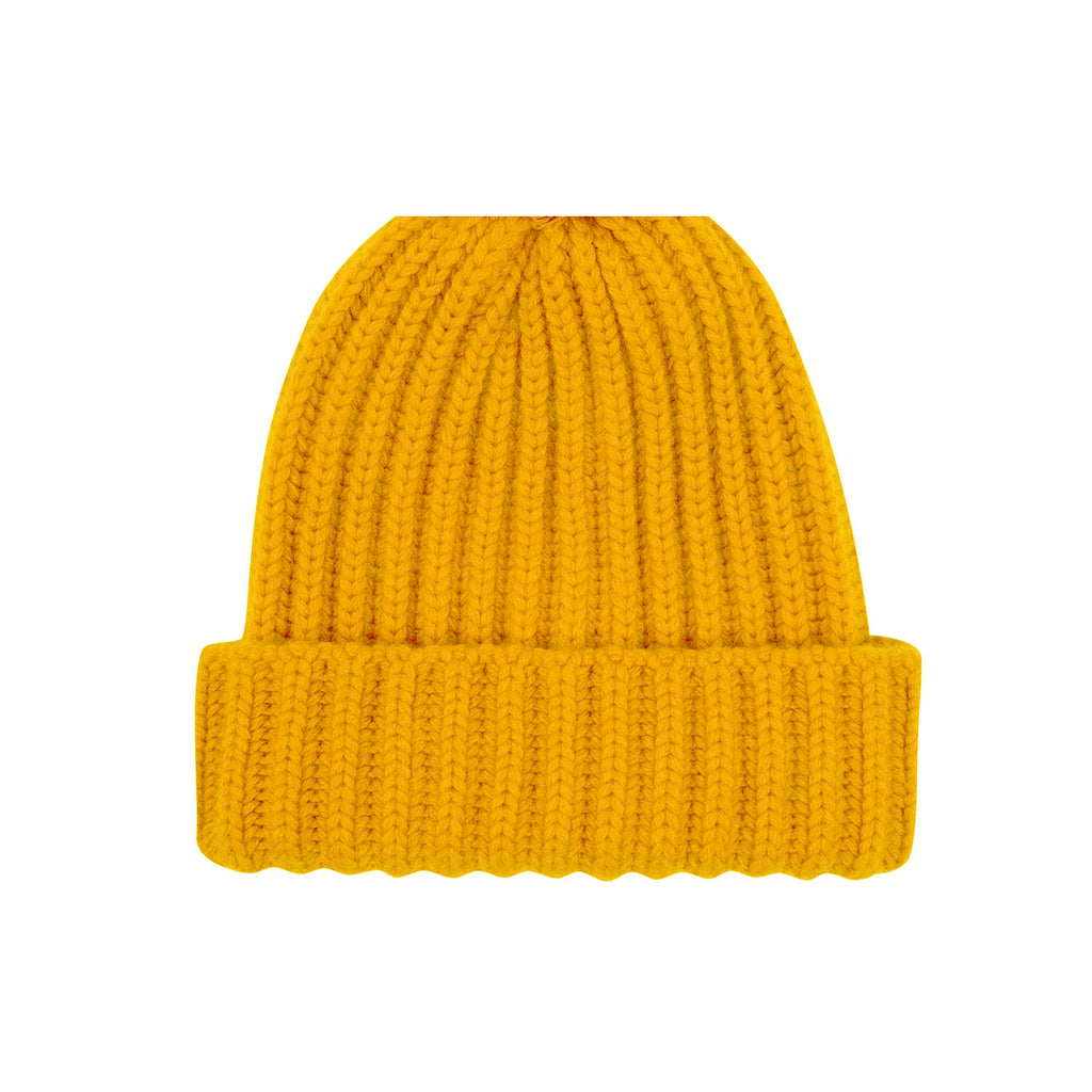 Portland Dry Goods Pure Cashmere Ribbed Hat (+colors)