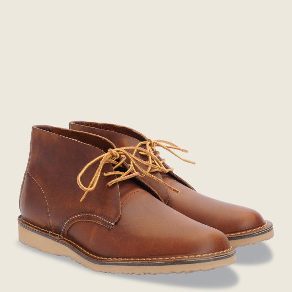 Red Wing Weekender Chukka, Copper