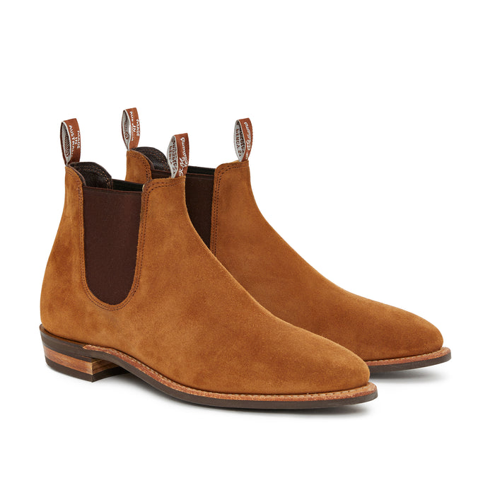 R.M. Williams Comfort Adelaide, Havana Suede