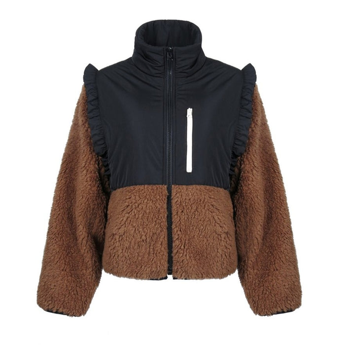 Sandy Liang Mia Fleece (1-SL-FW20-F6), Teddy
