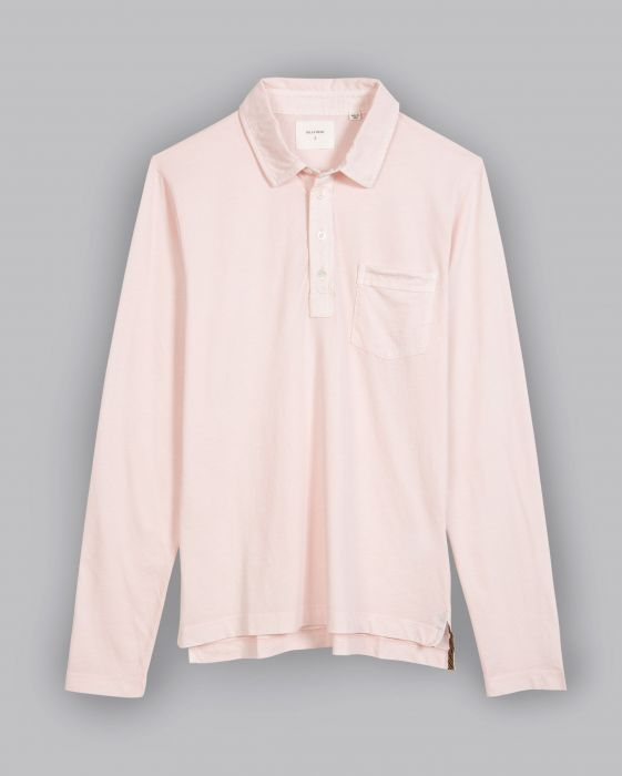 Billy Reid L/S Pensacola Polo, Rose