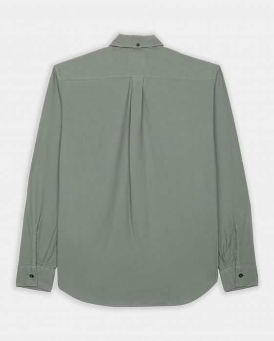 Billy Reid Washed Oxford Tuscumbia Shirt, Sage