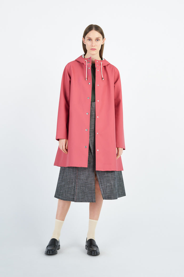 Stutterheim Mosebacke Raincoat, Faded Rose