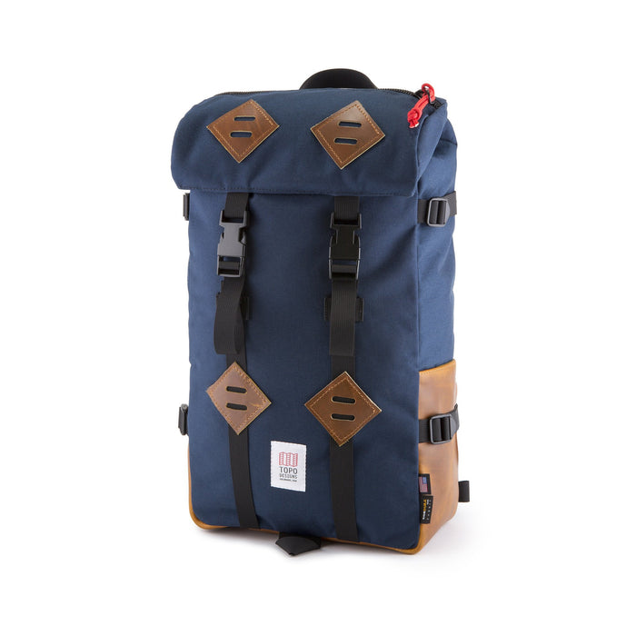 Topo Klettersack, Navy/Leather