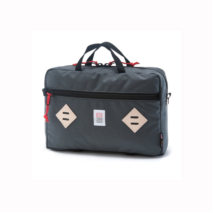 Topo Mountain Briefcase, Charcoal