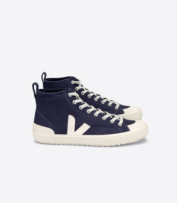 Veja Men's Nova HT Canvas, Marine/Pierre