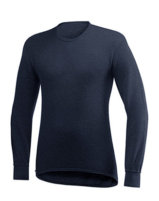 Wool Power Crewneck Sweater 200, Navy