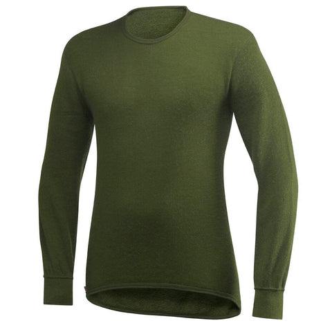 Wool Power Crewneck Sweater 200, Green