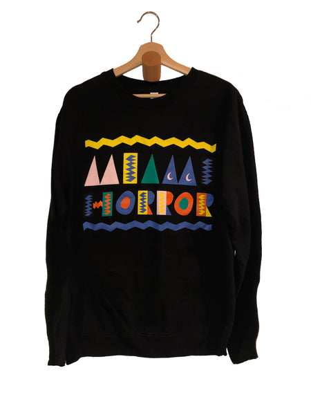 Azimba Crewneck Sweater in Black