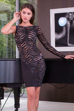 KLOMA DRESS BLACK