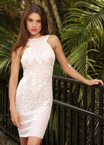 ILANIT DRESS  IN WHITE