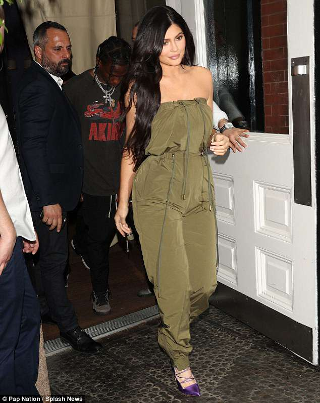 OLIVE JUMPSUIT AS SEEN ON KYLIE