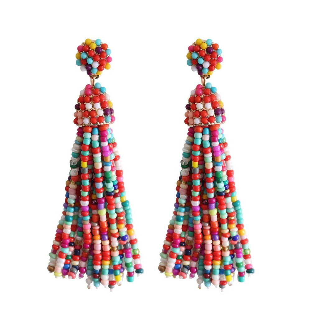 THE TASSEL EARRINGS - MORE COLORS