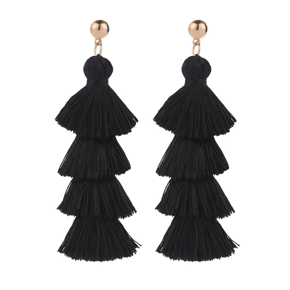 STAR TASSEL EARRINGS - MORE COLORS