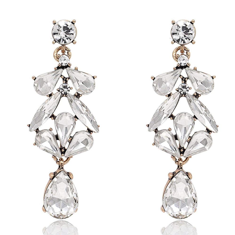 HANLOUD CRYSTAL EARRINGS