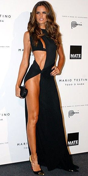 AS SEEN ON IZABEL GOULART - DANESH IN BLACK
