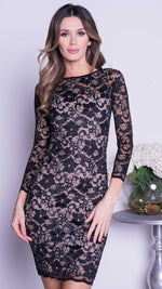 MIDI LACE DRESS - 15 COLORS