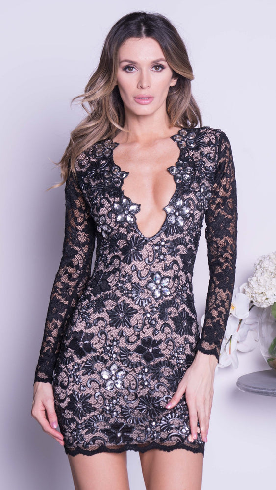 ELI LIMITED EDITION LACE DRESS IN BLACK - 15 COLORS