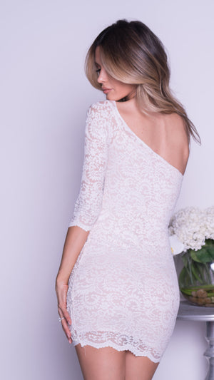 THAIS LACE DRESS IN WHITE - MORE COLORS