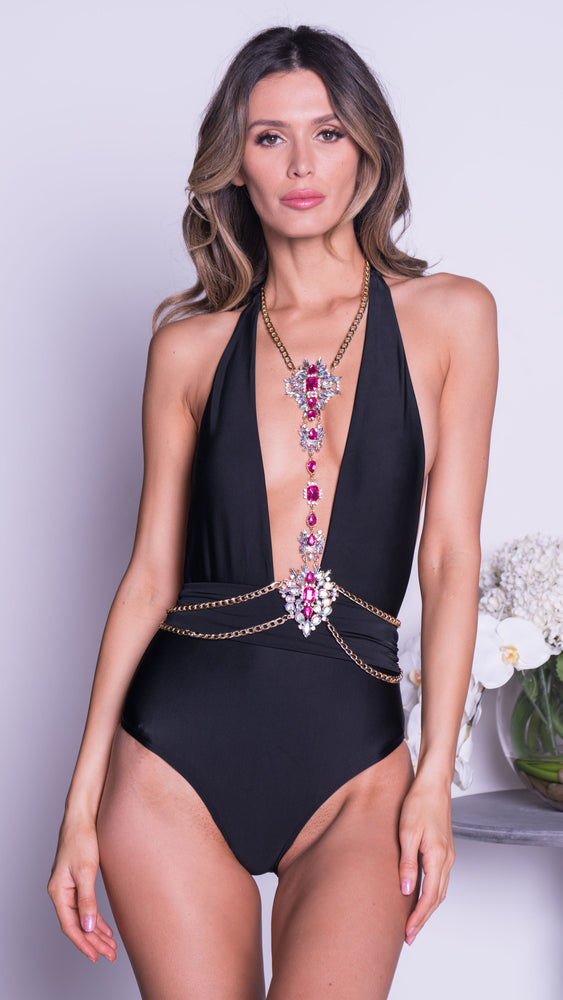 MONACO BODYCHAIN IN PINK