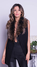 MOTA FAUX FUR JACKET