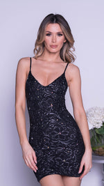 SOLAL LACE DRESS IN BLACK - 2 COLORS